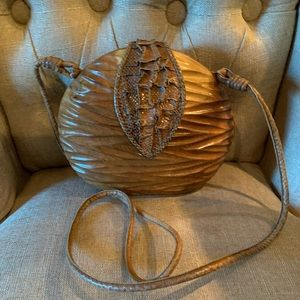 Timmy woods carved purse